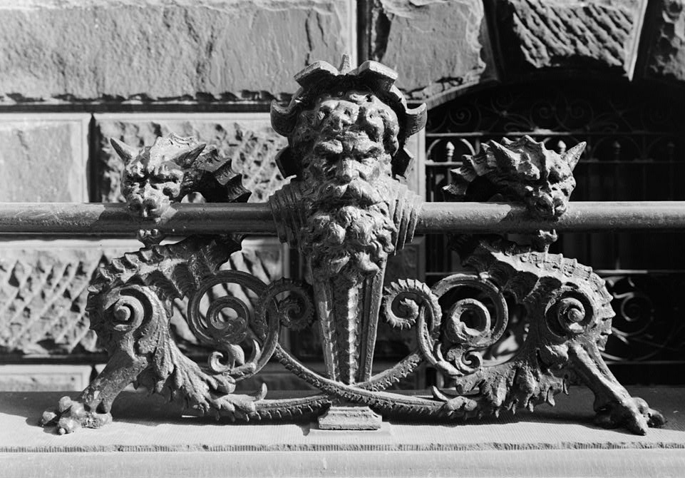 The Dakota, cast iron fence details, 15 Central Park West, historic NYC architectural details