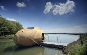 Exbury Egg, PAD Studio Architects, summer retreats for architects