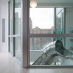 Turett Collaborative Architects, East Village penthouse with slide, NYC apartments with slides, interior slides