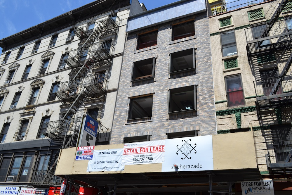 Grzywinski + Pons, 119 Orchard Street, Lower East Side real estate, Lower East Side conversions, NYC construction updates