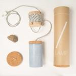 Slash Lamp, Dragos Motica, concrete design, contemporary lighting, unusual lamps