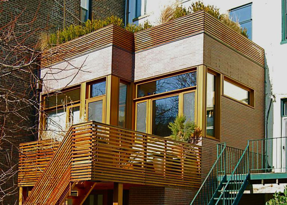 Tim Seggerman S Wooden Brooklyn Townhouse Extension Blends