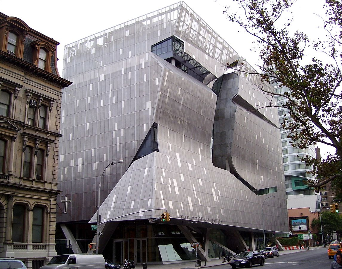 Cooper Union Center For Advancement Of Science And Art, Morphosis, NYC  Contemporary Architecture,