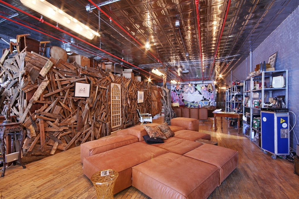 Bizarre 1 8 Million Soho Loft Has Giant Wood Shed 6sqft
