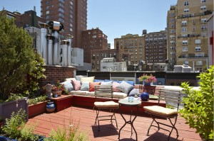 NYC real estate, Upper West Side real estate, 129 West 80th Street, NYC roof decks