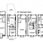 651 Washington Street, NYC rowhouse, rowhouse floorplan, Federal rowhouse