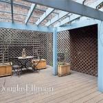 651 Washington Street, NYC rowhouse, west village rowhouse, rowhouse terrace