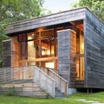 Bates Masi + Architects, House renovation, Long Island home, reclaimed cypress wood, Re-cover House, wooden home