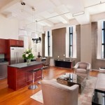 Belltel Lofts, 365 Bridge st 26B, loft interior, cool roof deck