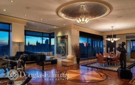 524 East 72nd St PH3 interior, The Belaire, Richard Harriton home, Thomas Kavaler hom