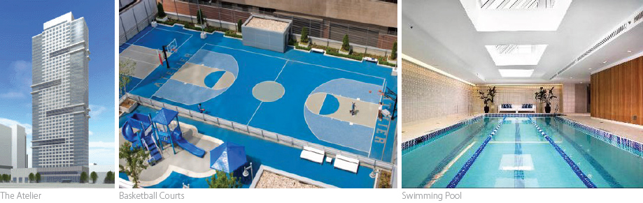 The Atelier, NYC luxury real estate, athletic building amenities,