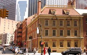 fraunces tavern museum, financial district, fidi, historic buildings, landmarked buildings