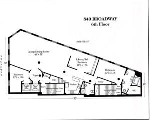 840 Broadway, Union Square Park, Flatiron-shaped building, Fredrik Eklund