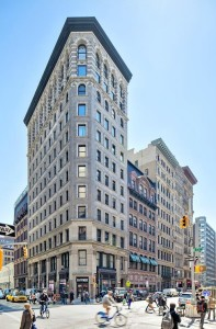 840 Broadway, Union Square Park, Flatiron-shaped building, Fredrik Eklund