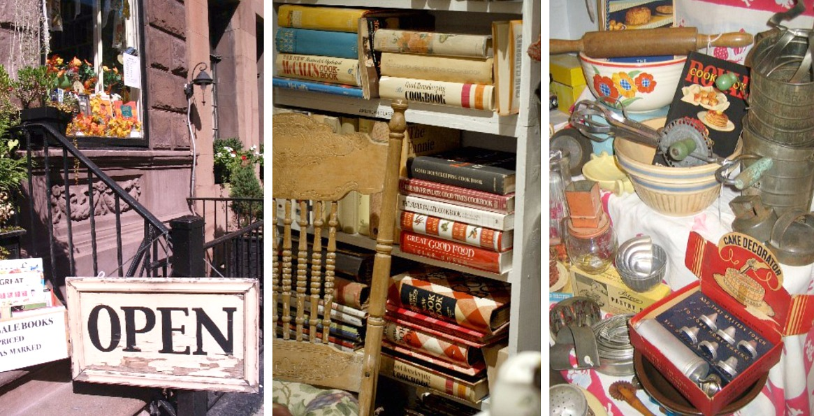 Bonnie Slotnick Cookbooks, Greenwich Village book stores, cookbook stores, historic cookbooks