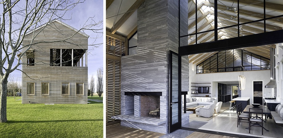 Leroy Street Studio's Louver House is a ontemporary ... - ^