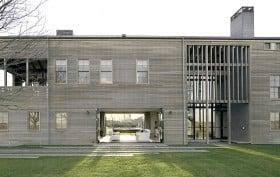 Leroy Street Studio, Louver House, Wainscott New York, modern barns