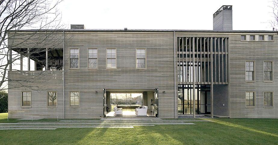 Leroy Street Studios Louver House Is A Contemporary Interpretation Of The Traditional Barn