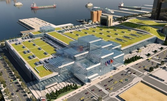 Daily Link Fix: The Javits' Massive Rooftop Garden