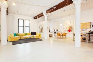 6 Varick Street #2C, short-term lease, quintessential loft
