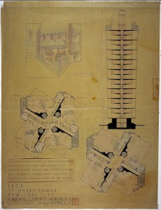 St. Mark's Towers Section Plans