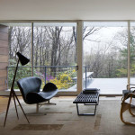 Gluck+ Architects, Rado Redux, floating box home, Armonk, Ladislav Rado, modern renovation