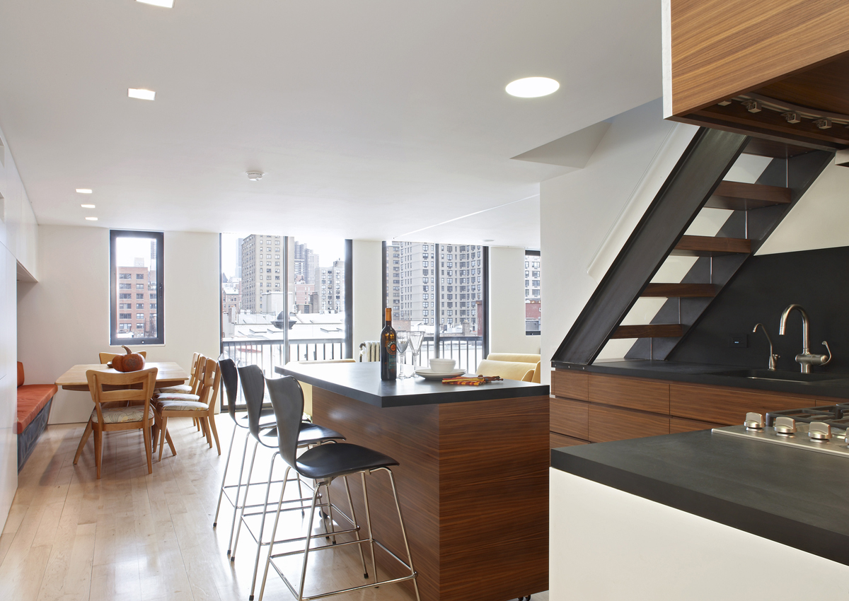 Slade Architecture, Gramercy Duplex, environmentally friendly design