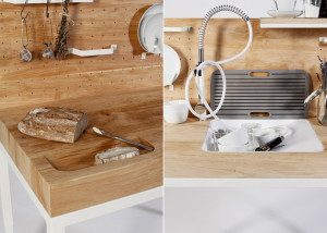 Dirk Biotto, kitchen unit, ChopChop, functional, minimal kitchen