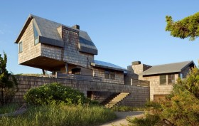 Amagansett New York, Hamptons beach houses, Whaler's Lane Residence, Rogers Marvel Architects.