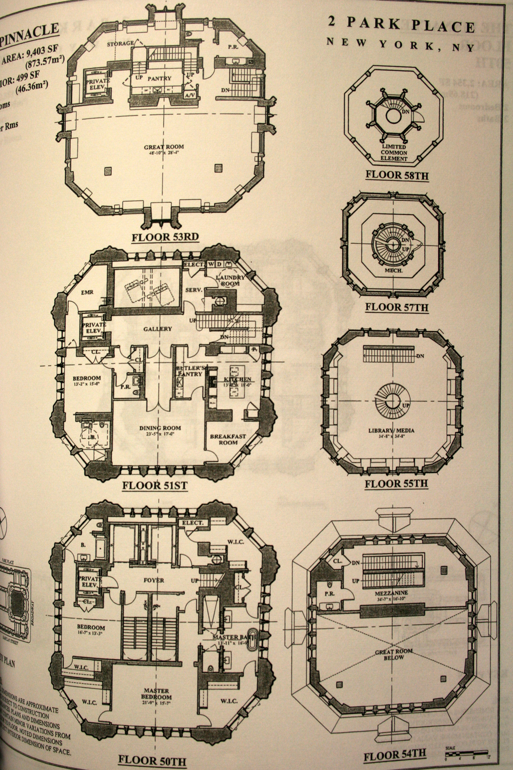woolworth building penthouse floor plan, woolworth penthouse floor plan