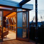 Pulltab Designs, East Village Penthouse, brise-soleil