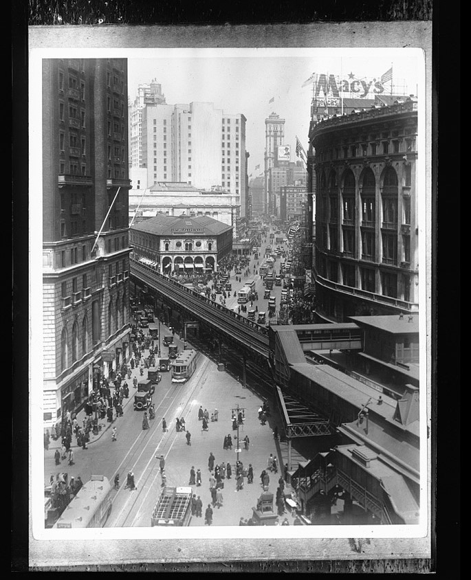Herald Square Elevated Rail