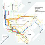 wheelchair accessible stations nyc subway map
