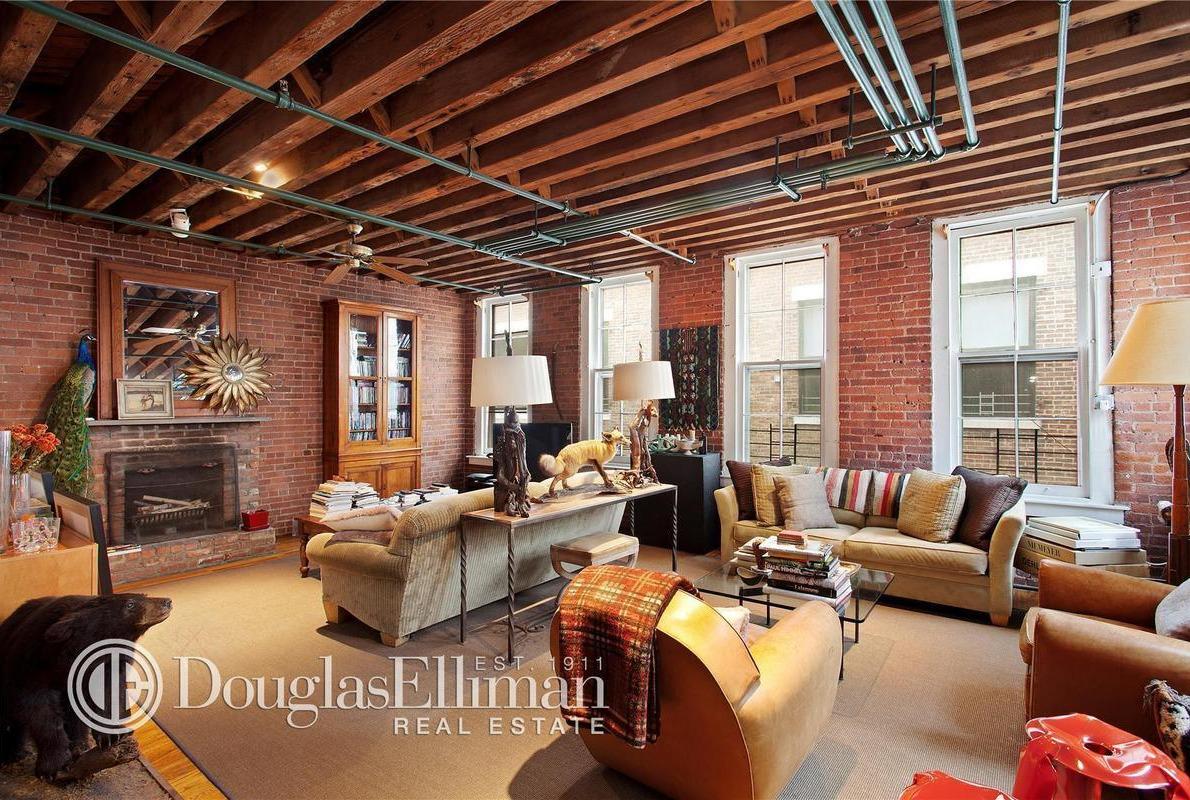 465 West Broadway, Lisa Pevaroff, taxidermy decor, Soho real estate sales