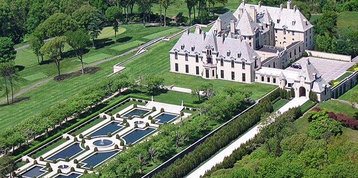 The Oheka Castle, inspiration for Gatsby's mansion