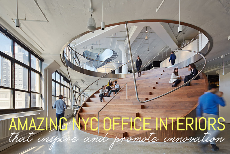 amazing nyc office interiors that inspire and promote innovation 6sqft