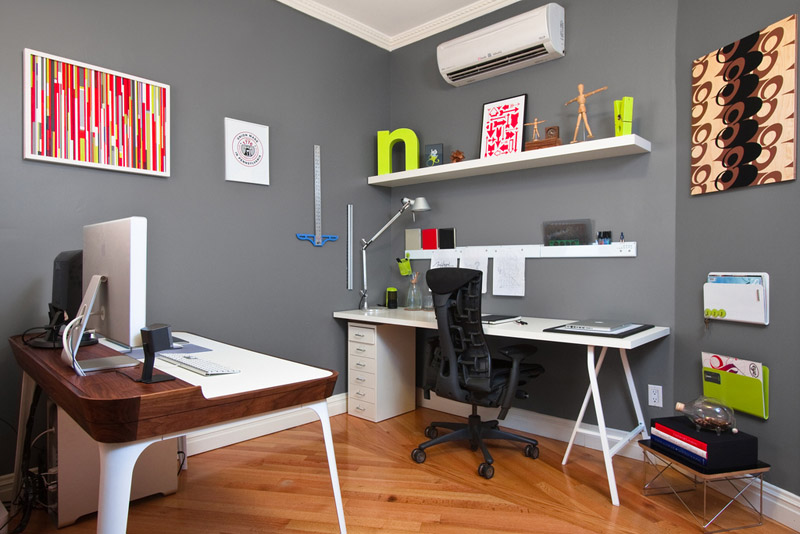 nick keppol, nick keppol office, A NYC Designer's home office.