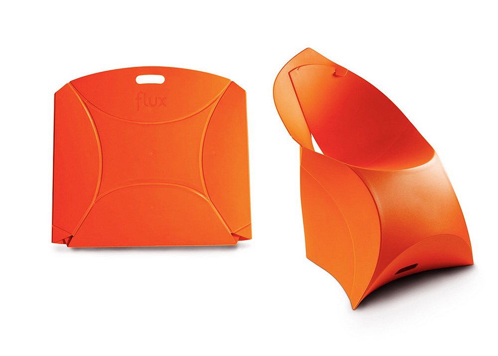 Astounding Flux Chair Fantastic Plastic Seat By Dutch Duo Can Fold In Pdpeps Interior Chair Design Pdpepsorg
