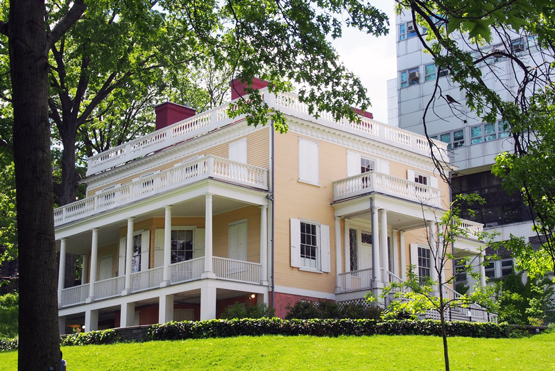 Hamilton Grange, NYC landmarks, Alexander Hamilton