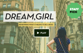 dream girl, kickstarter, kickstarter campaign, women entrepreneurs, female bosses, female leaders