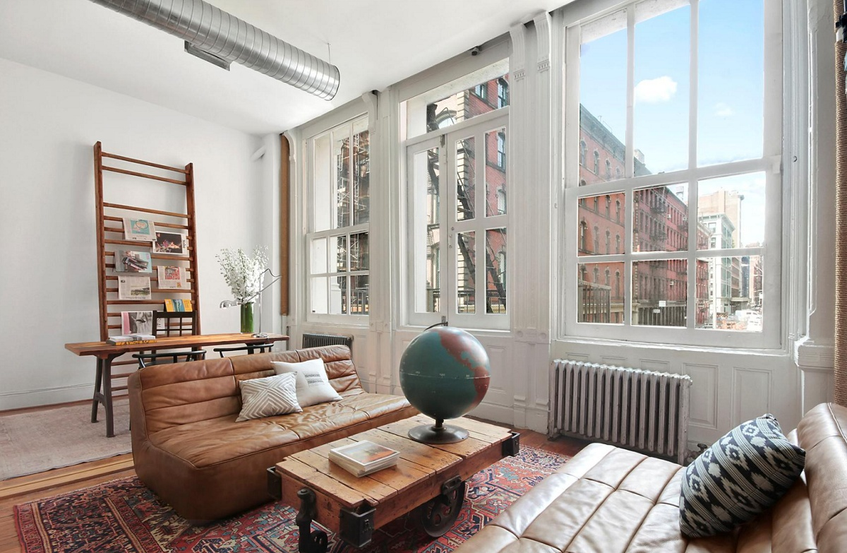 Jonah hill puts soho loft on the market for 3 8 million for Interieur loft new york