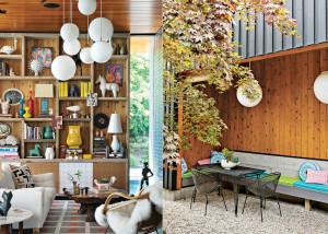 Gray Organschi Architecture, Jonathan Adler, Simon Doonan, Shelter Island Vacation Home, Crab Creek, colorful interiors, rustic modern