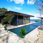 Gray Organschi Architecture, Jonathan Adler, Simon Doonan, Shelter Island Vacation Home, Crab Creek, colorful interiors, rustic modern