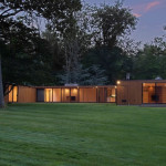 Philip Johnson , Glass House , philip johnson Connecticut houses, Wiley Speculative House, Wiley Development Corporation, plywood homes, 178 Sleepy Hollow Road, Connecticut starchitecture, starchitecture