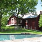 Susan Wisniewski Landscape, Greene County Residence, Greene County New York, upstate New York landscape design, trapezoidal pool