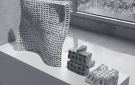 3D-Printing, PolyBricks, Jenny Sabin Studio, 3D-printed construction materials