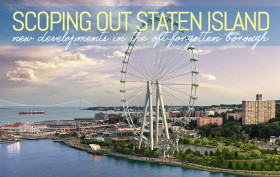 New York Wheel, Staten Island Ferris Wheel, St. George Redevelopment Project, Staten Island waterfront