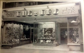 tip top shoes, tip top shoes historic photos, tip top shoes upper west side