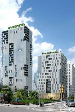 Asymtope, Marvel Architects, and NV/da+O'Neill McVoy, pier 6, pier 6 housing, brooklyn bridge park apartments, brooklyn bridge park affordable housing
