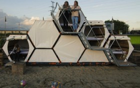 b-and-bee, achilles heel, design, sleeping pod, music festivals, festivals, sustainable design, sustainable entrepreneurial